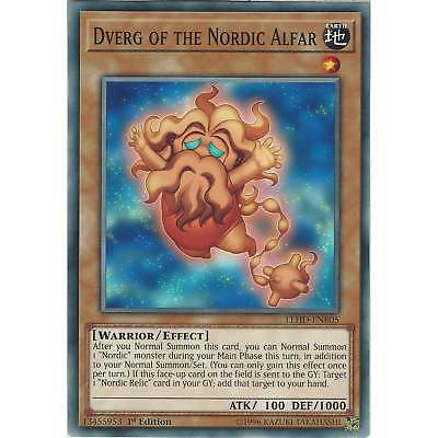 Yu-Gi-Oh Dverg of the Nordic Alfar - LEHD-ENB05 - Common Card - 1st Edition