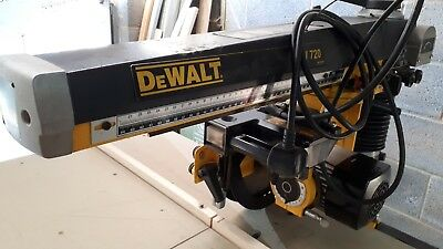 Dewalt DW720 Radial Arm Saw 230V with new bed and blade Ect