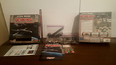 Star wars X-wing Le jeux de figurine FRENCH STARTER PACK pre-owned