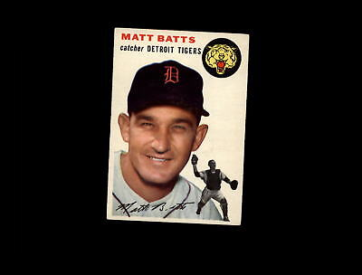 1954 Topps 88 Matt Batts VG-EX #D800467