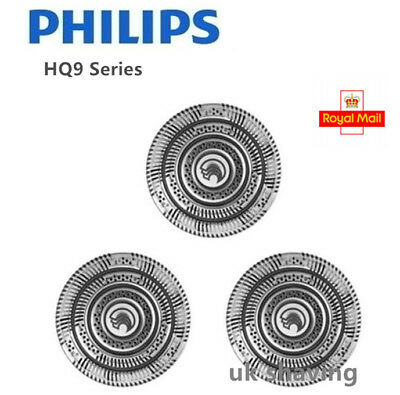 3x Quality Philips Norelco Replacement HQ9 Shaver Head Razor Blades Cutter UK
