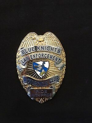 Blue Knights Shield For Blue Knights Members Now with improved Pin