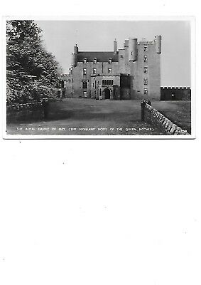 MEY Early RP Caithness Postcard Royal Castle Queen Mothers Highland Home