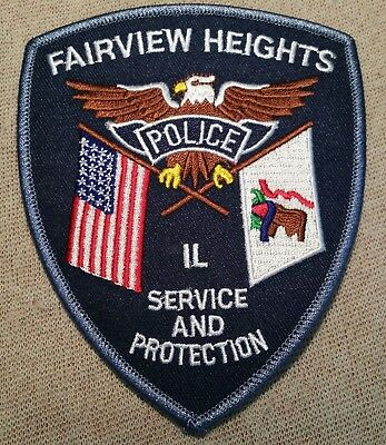 IL Fairview Heights Illinois Police Patch