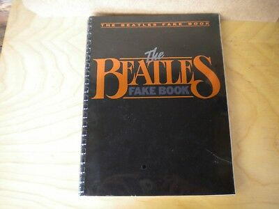 6a33409eae69 THE BEATLES FAKE Book Hal Leonard in Original Wrapping Never Opened