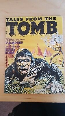 Tales from the Tomb April 1971 Issue - EXCELLENT CONDITION - NEVER OPENED/READ