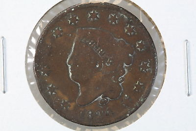 1824 Large Cent Circulated