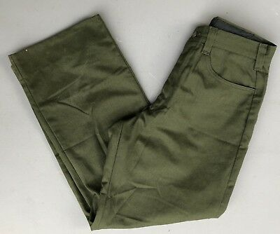 FSS Aramid Wildland Firefighter Pants Green Made in USA Size 34x30
