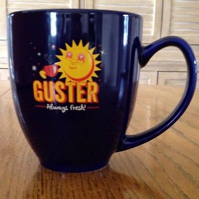 Guster Always Fresh Coffee Mug NEW Navy Blue Rock Band