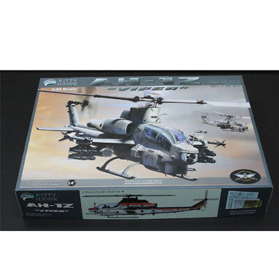 Kitty Hawk KH80125 1/48 Modern American AH-1Z Viper Armed Helicopter Model New .
