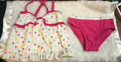 Polka Dot Two-Piece Swimsuit  Size 5T NEW