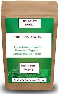 100% Pure  Organic Spirulina Powder Orignal  And High Quality Free Fast Delivery