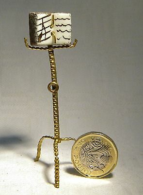 Limoges Doll House  Miniature Music Stand