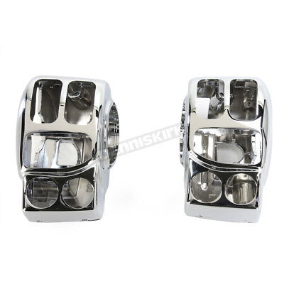 Drag Specialties Chrome Complete Switch Housing - 0616-0231