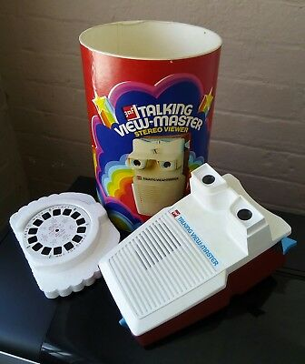 Talking View-master Gaf Stereo Viewer Boxed Complete and Working