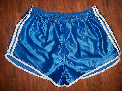vintage Nylon Shorts glanz shiny Sporthose pants oldschool 90s gym retro fitness