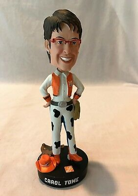 2014 HOME DEPOT CAROL TOME COWGIRL Homer Fund Bobblehead