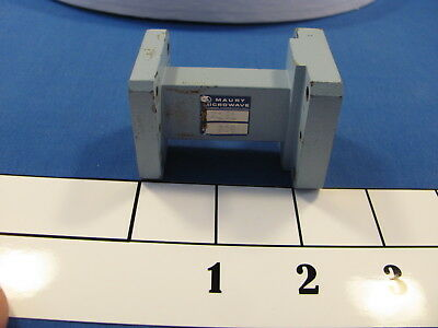 Maury Microwave WR75 to WR90 Waveguide Transition Cover Flange both ends <103>
