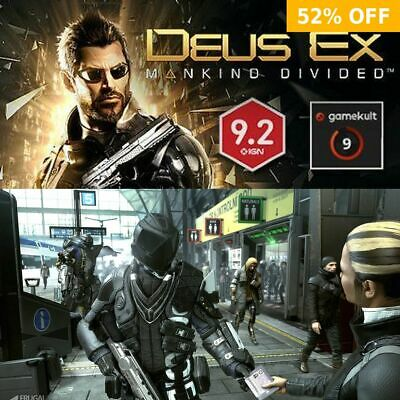 Deus Ex: Mankind Divided - PC WINDOWS MAC LINUX - Steam