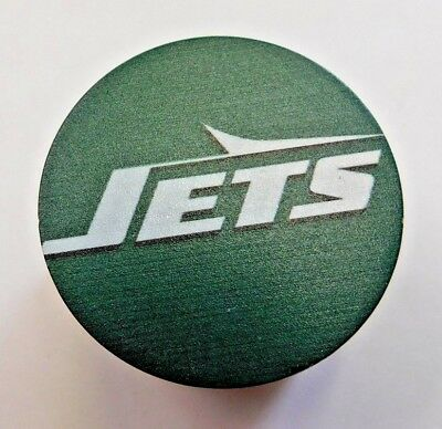 New York Jets 4 Piece Magnetic Herb Grinder 2 Inch Aluminum