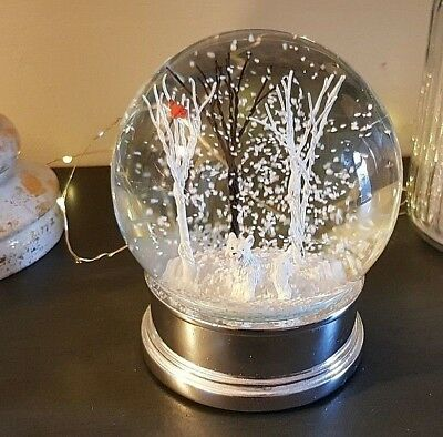 Westie Snow Globe Dome Winter Woodland Christmas Dog Lovers Gift Memorial