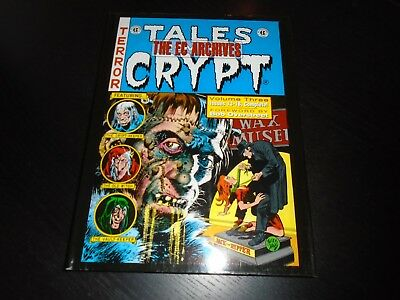 EC ARCHIVES - TALES FROM THE CRYPT Vol. 3 EC Comics Hardcover