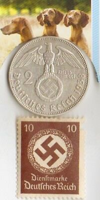 - *WW2 -  *US  and   *german SILVER EAGLE  coin / stamps  ++