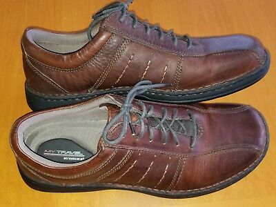 4769dd7532df MY TRAVEL STREETCARS Men s Shoes Brown Leather Size 13 -  36.35 ...