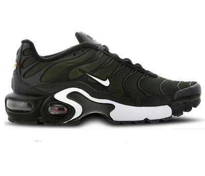 best website ae5a8 7315e Nike Air Max Plus GS Tn Tuned Sequoia Green Khaki Juniors Girls Boys 655020  302 ...