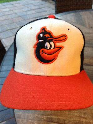 9f258660 BALTIMORE ORIOLES Sports Specialties Fitted 100 Wool Hat 6 7/8 Vintage NWOT