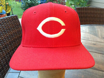 new arrival 0e12d eac21 CINCINNATI REDS Sports Specialties Fitted 100 Wool Hat 6 7 8 Vintage NWOT  NEW