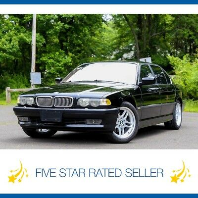 BMW 7-Series Navi Cold weather Super Low 65K Serviced CARFAX 2001 BMW 740IL  Navi Cold weather Video Low 65K Serviced Loaded CARFAX