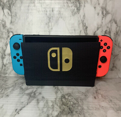 Gold Nintendo Switch Dock Sock Cover