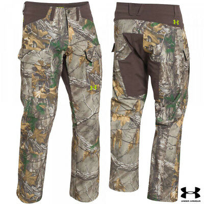 7bb4a436ccdf6 Under Armour Scent Control Field Pants Realtree Xtra Size 38
