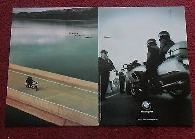 2000 Print Ad BMW K 1200 LT Motorcycle ~ Great Place For Mexican Food is Mexico