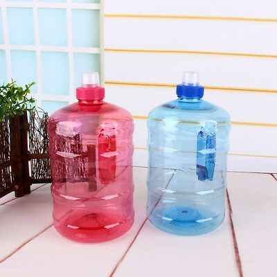 1/2L Big Large BPA Free Sport Gym Training Drink Water Bottle Cap Kettle Workout