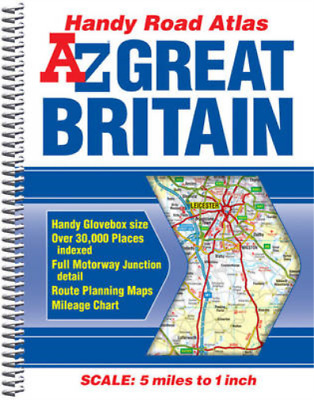 Great Britain Handy Road Atlas 2014 (A-Z Road Atlas), Geographers A-Z Map Co Ltd