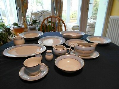 Doulton Bruce Oldfield Regency Gold-plates, bowls, etc (Very good condition)