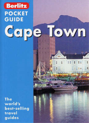 Cape Town Berlitz Pocket Guide, Don Philpott, Used; Good Book
