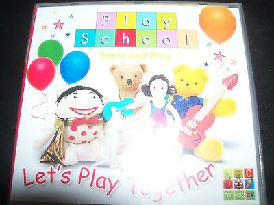 Play School Let's Play Together ABC Kids CD – New
