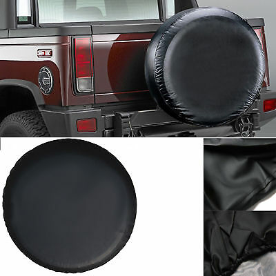 """16inch 4x4 4WD Black Spare Wheel Tyre Cover Fit Car Tire's Φ 75~79cm (30""""-31"""")"""