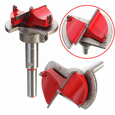 Forstner Woodworking Boring Wood Hole Saw Cutter Drill Bit + Depth Guide 35MM