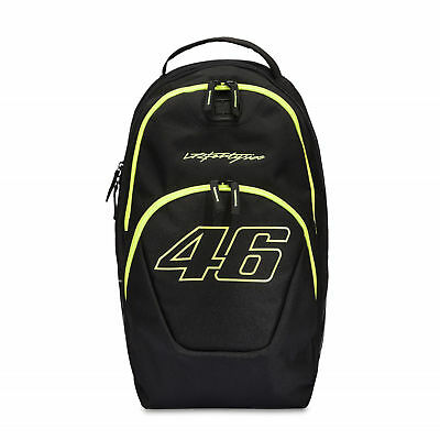 VR46 Valentino Rossi Outlaw Motorcycle Motorbike MotoGP Backpack - Black