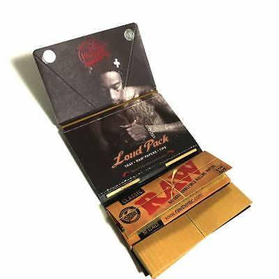 RAW Classic WIZ KHALIFA 1 1/4 - 1 PACK - Rolling Papers Connoisseur Loud Pack