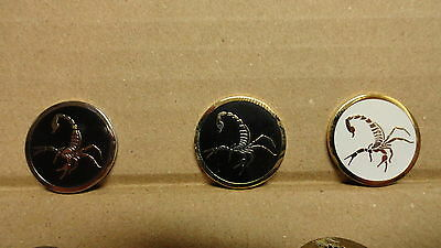1 Only Scorpion Golf Ball Markers - White No Longer Available