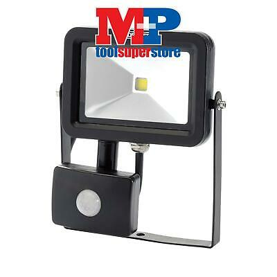 Draper 66036 COB LED Slimline Wall Mounted Flood Light With PIR Sensor (10W)