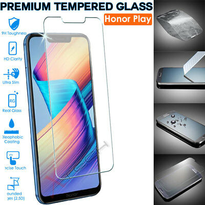 Genuine Premium TEMPERED GLASS Invisible Screen Protector Cover For Honor Play