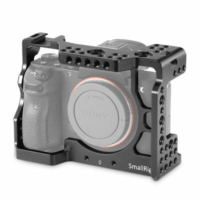 SmallRig 2087B DIY Camera Cage 1/4'' with cold Shoe for Sony A7RIII/A7M3/A7III