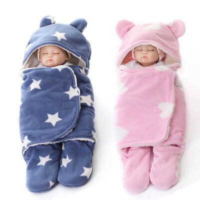 NewSwaddle Swaddling Baby Girl Boy Snuggle Wrap Blanket Bedding Soft Feel
