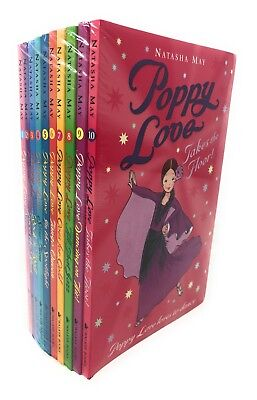 Natasha May Poppy Love 10 Books Set Collection, Star Turn, Steps Out,Tango Queen